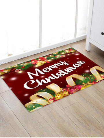 Merry Christmas Bell Floor Rug - from $7.05