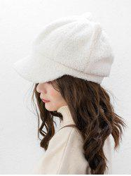 Suede Ears Design Hat -