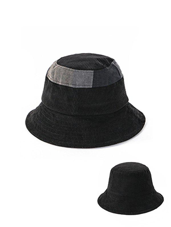 Store Jointed Plaid Pattern Floppy Bucket Hat