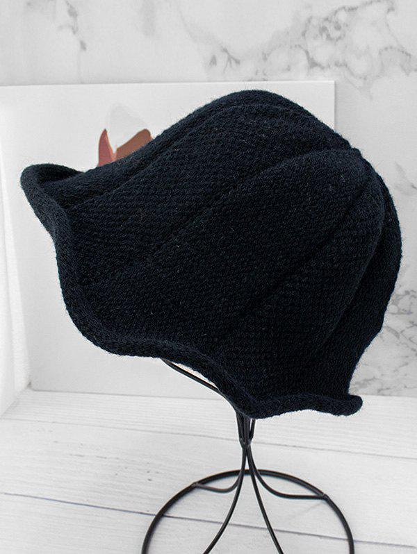 Hot Knitted Solid Woolen Yarn Hat