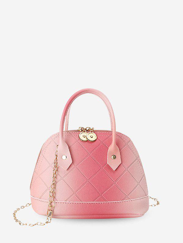 Shop Quilted PU Leather Shell Tote Bag