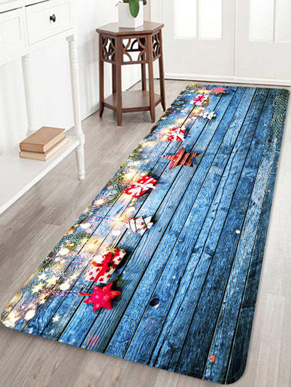 Chic Christmas Gift Wooden Floor Rug