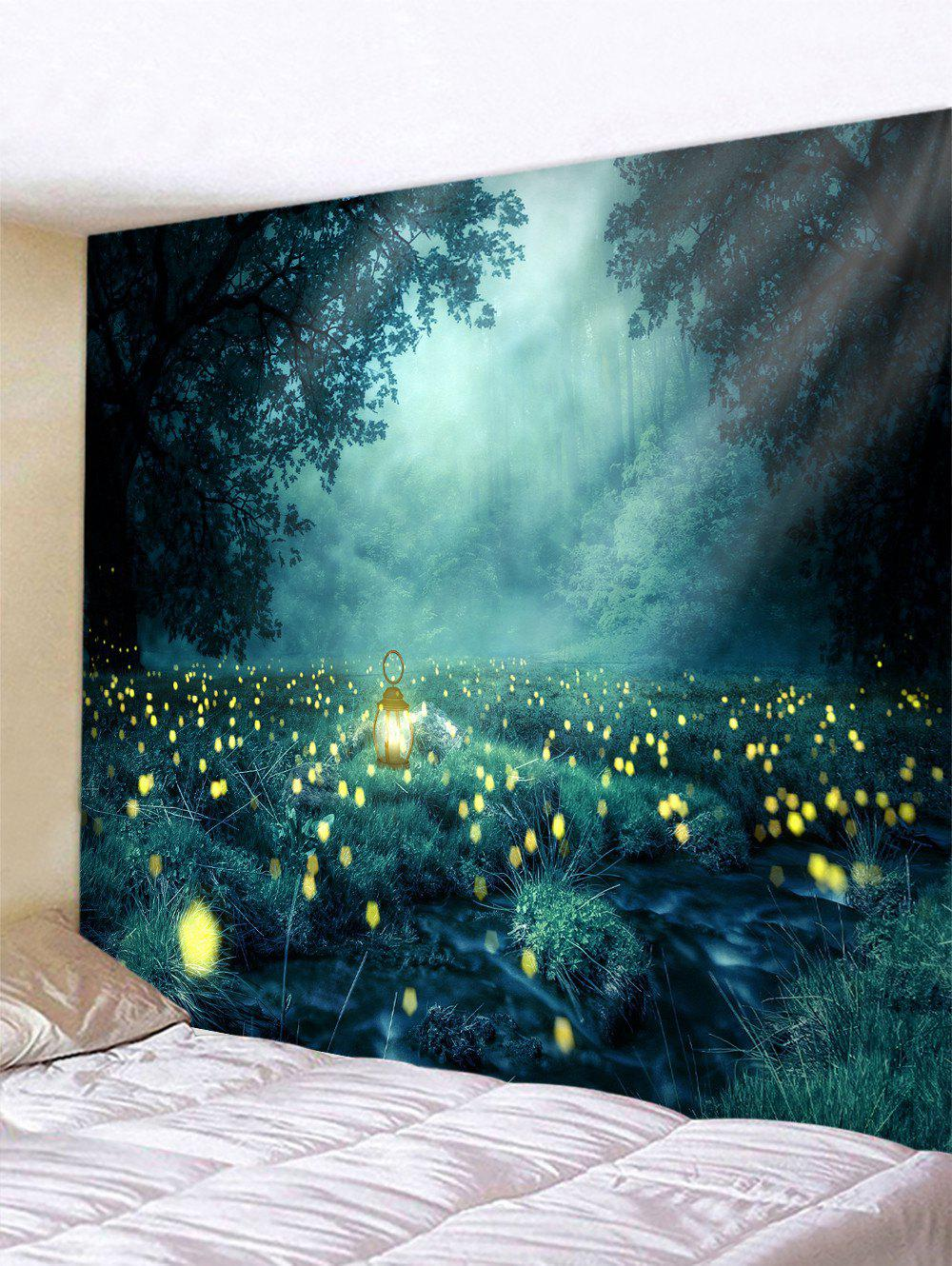 Store Forest Firefly Printed Tapestry
