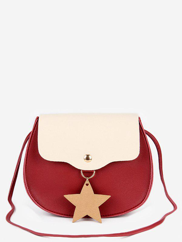 Discount Star Charm Flap Mini Crossbody Bag