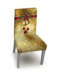 1PCS Christmas Bell Elastic Chair Cover -