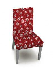 1PCS Christmas Snowflake Pattern Elastic Chair Cover -