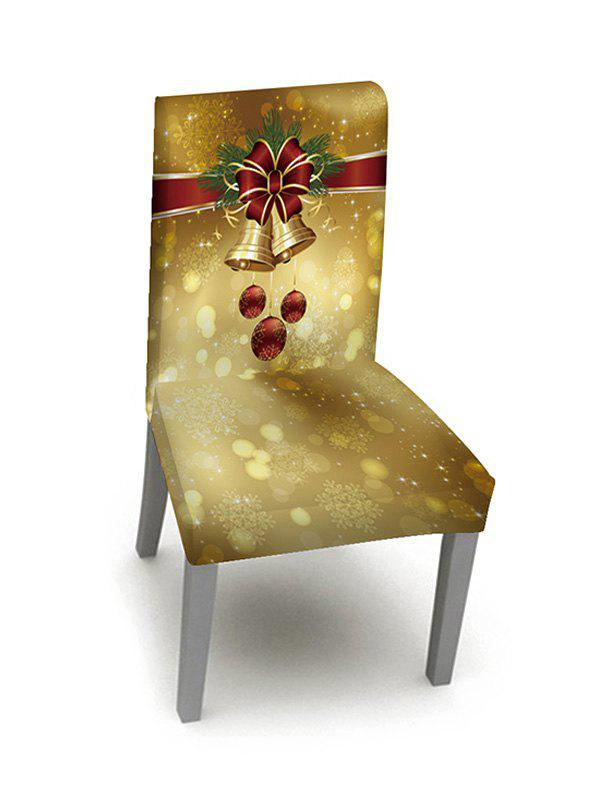 1PCS Christmas Bell Elastic Chair Cover thumbnail