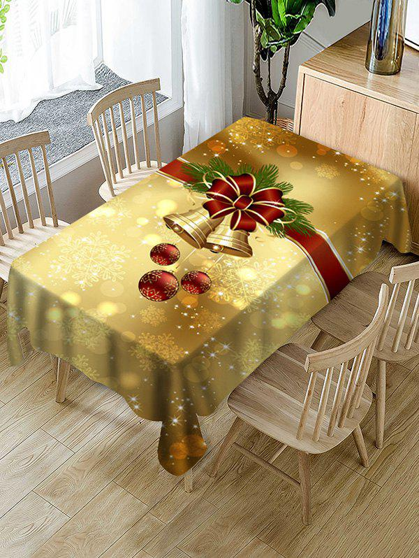 Online Christmas Bell Ball Fabric Table Cloth