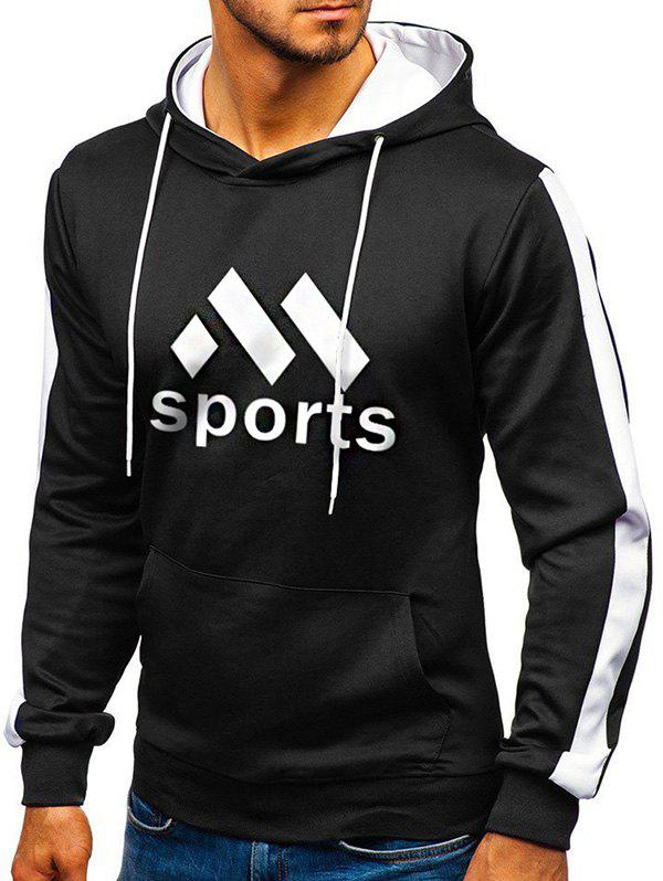 Outfits Sport Graphic Front Pocket Fleece Hoodie