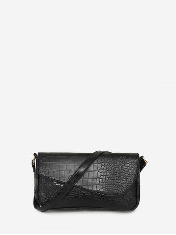 Retro Small Embossed Simple Shoulder Bag - from $24.49
