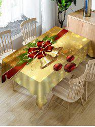 Christmas Bell Fabric Table Cloth -