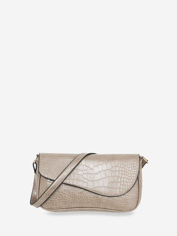 Discount Retro Small Embossed Simple Shoulder Bag
