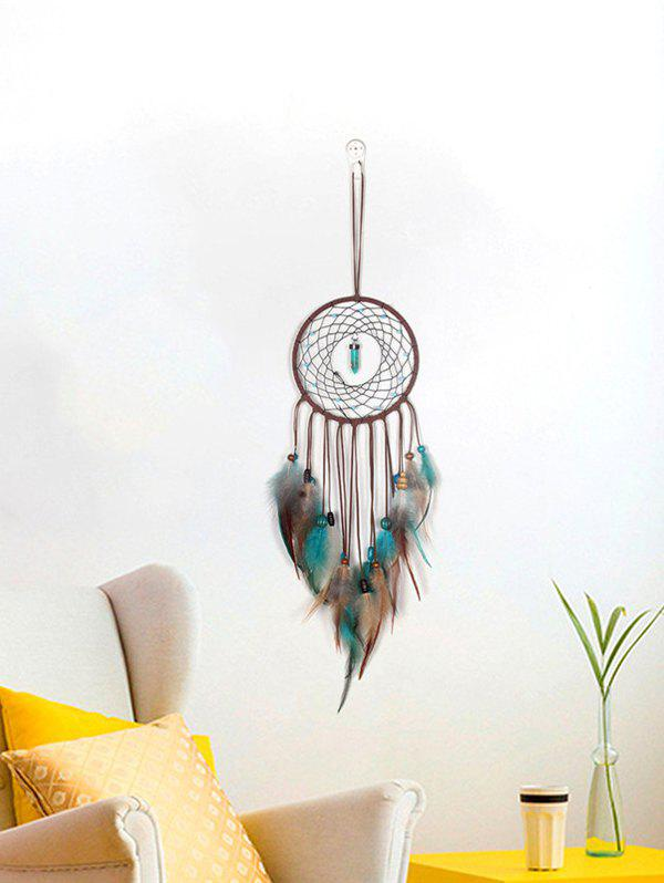 Store Faux Turquoise Beaded Handmade Indian Dream Catcher