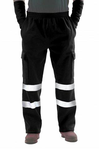 Reflective Stripe Work Safety Casual Pants