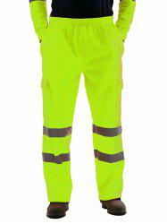 Reflective Stripe Work Safety Casual Pants -
