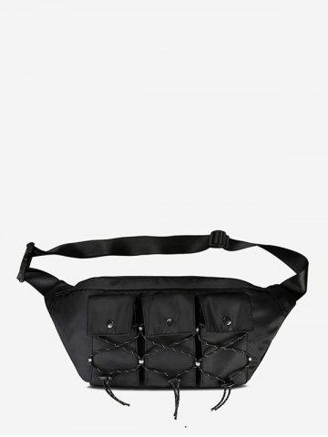 Multi Pockets Casual Fanny Pack