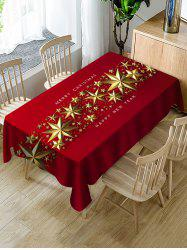 Merry Christmas New Year Table Cloth -