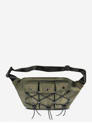 Multi Pockets Casual Fanny Pack -