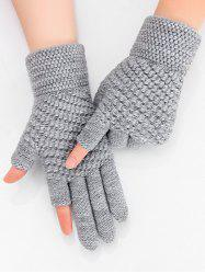 Solid Simple Thick Winter Study Gloves -