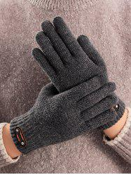 Solid Cycling Driving Telefingers Glove -
