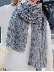 Knitted Long Scarf -