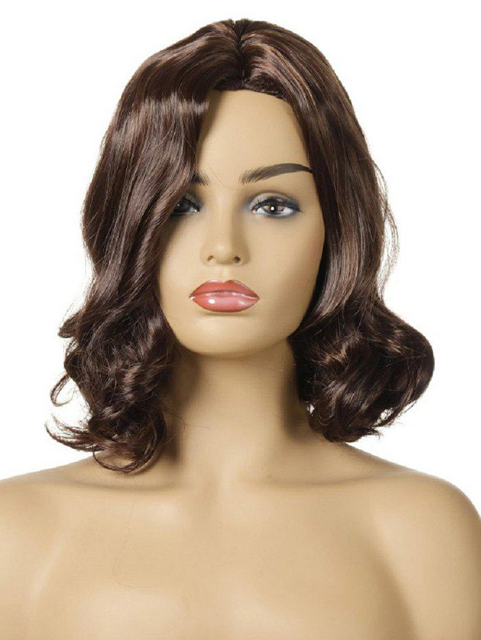 Outfits Synthetic Side Part Curly Medium Wig