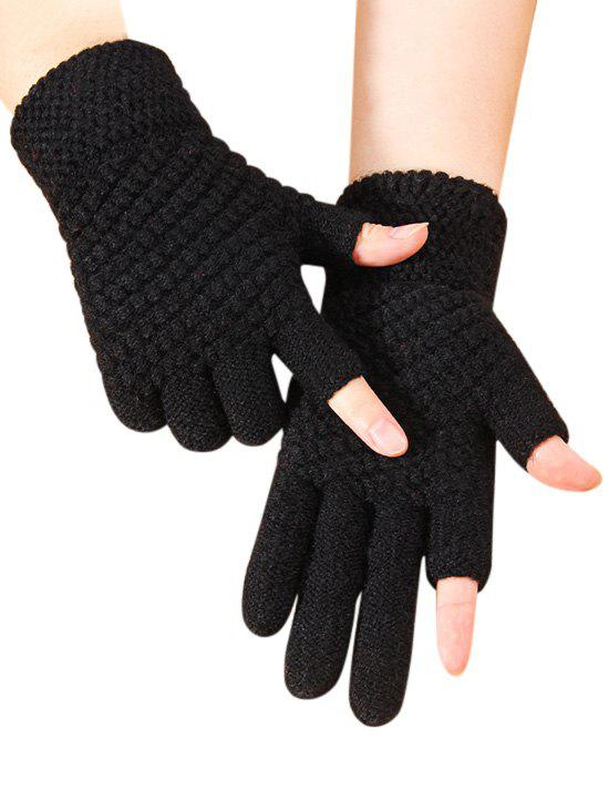 Shop Solid Simple Thick Winter Study Gloves