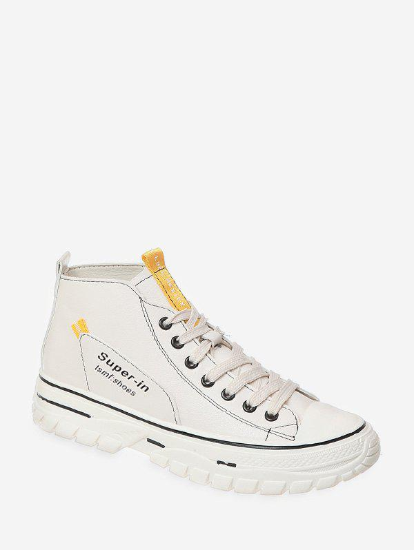 Discount Casual Lace Up High Top Shoes