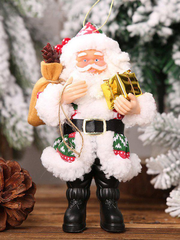Fancy Christmas Santa Claus Hanging Doll