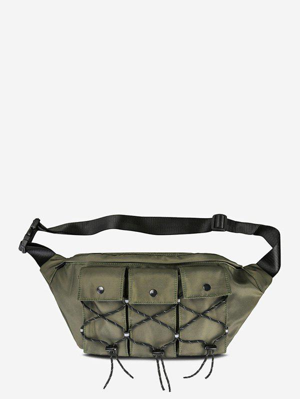 Buy Multi Pockets Casual Fanny Pack