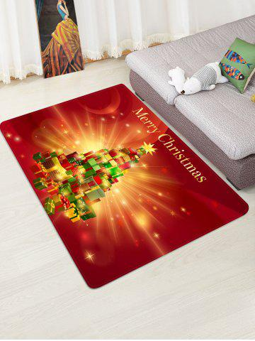 Merry Christmas Gift Tree Floor Rug - from $35.11
