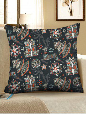 Christmas Tree Balls Elks Gifts Print Decorative Pillowcase - from $3.76