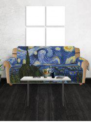 Abstract Print Couch Cover -