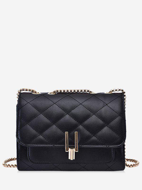 Affordable Rectangle Quilted Chain Crossbody Bag