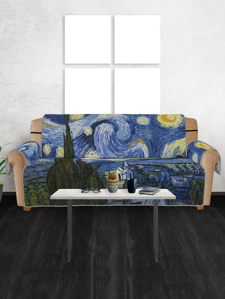 Chic Abstract Print Couch Cover