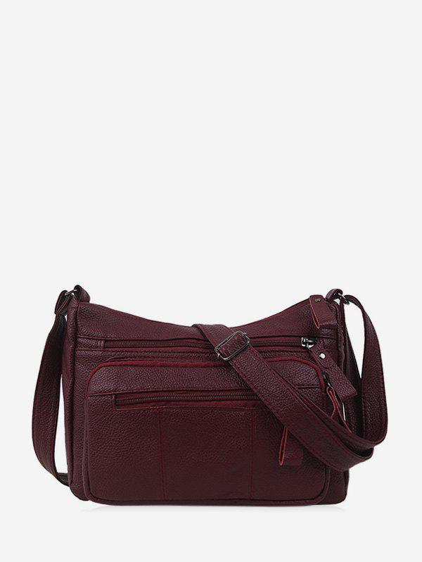 Poches solides Casual Sac bandoulière