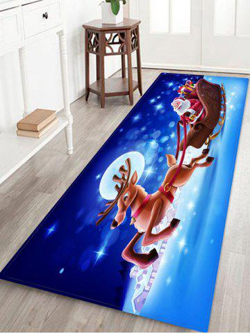 Father Christmas Deer Gift Floor Rug - from $26.82