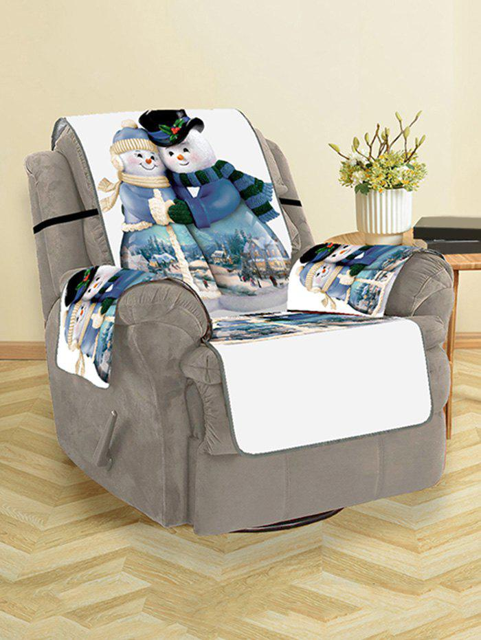 Affordable Christmas Snowman Lover Sofa Cover