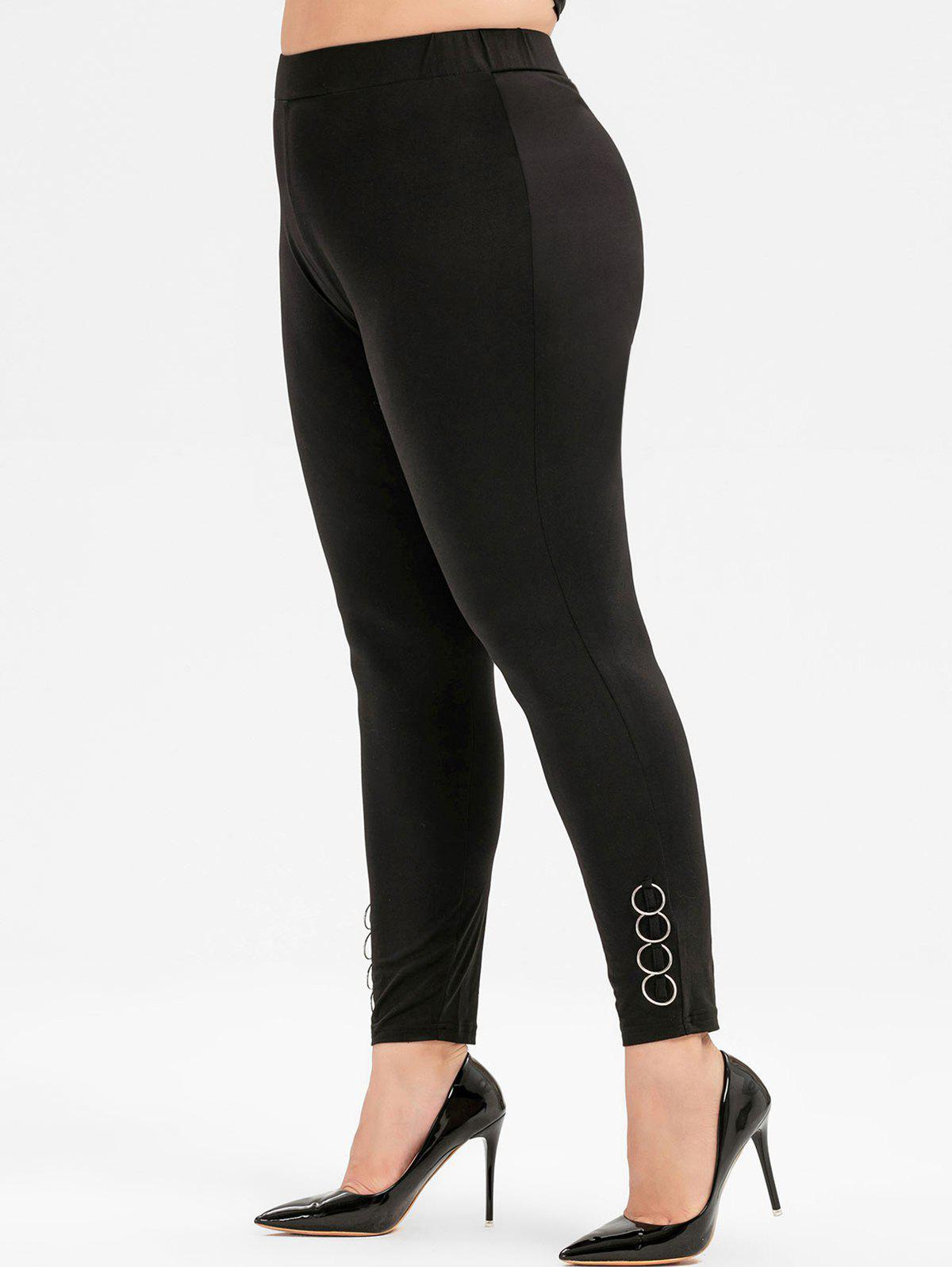 Buy Plus Size O-ring High Waisted Leggings