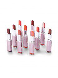 10Pcs Lasting Foggy Two Tone Lipstick Set -