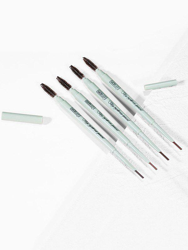 Outfit 4Pcs Double Head Lasting Waterproof Eyebrow Pen