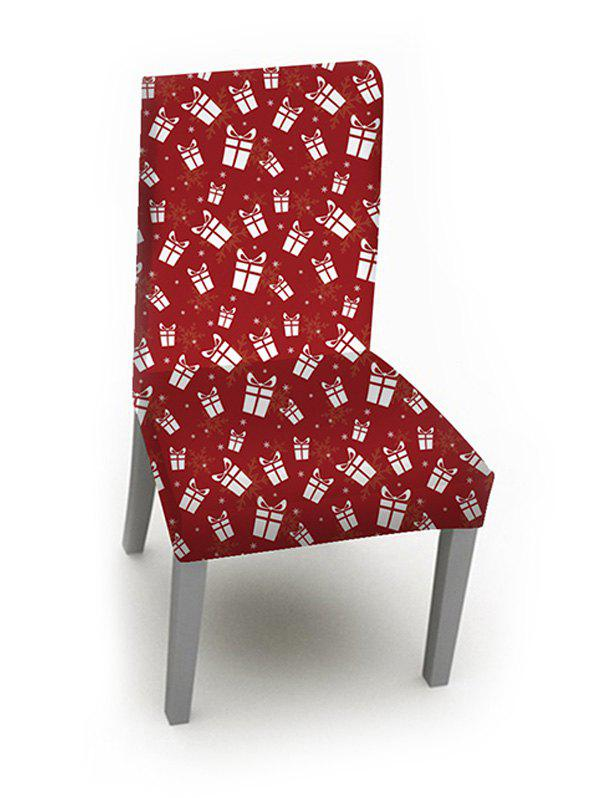 Online Christmas Cartoon Gifts Print Chair Cover
