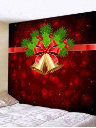 Christmas Bell Snowflake Printed Tapestry -