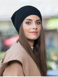 Winter Solid Wool Knitted Hat -