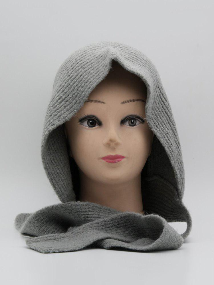 Affordable Winter Warm Lace Up Ear Knitted Hat