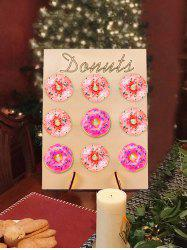 Birthday Wedding Party Decoration Donut Wall Stand Doughnut Sweet Cart Treat Stand -