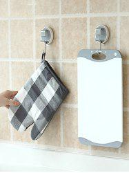 Bathroom Wall-mounted Storage Hanging Hook -