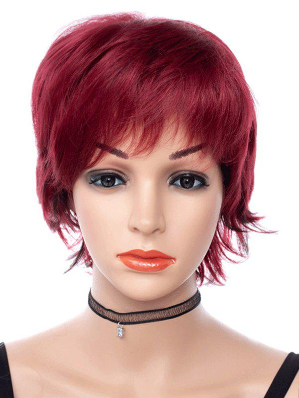 Buy Free Part Short Straight Pixie Cut Synthetic Wig