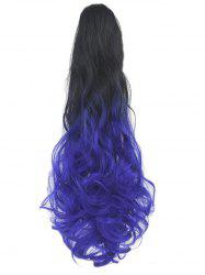 Long Body Wave Clip On Synthetic Ombre Hair Extension -