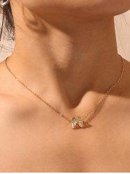 Wings Pendant Collarbone Necklace -